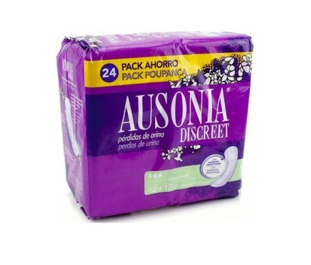 Ausonia Discreet normal 24uds