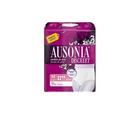 Ausonia Discreet Pant Plus T-M 9uds