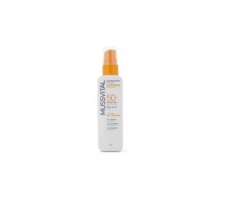 Mussvital loción solar spray SPF50+ 200ml