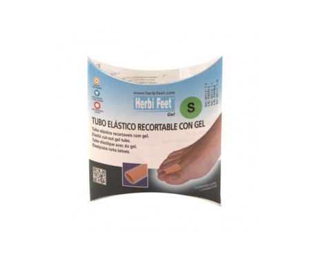 Herbi Feet tubo elástico recortable con gel T/S 1ud