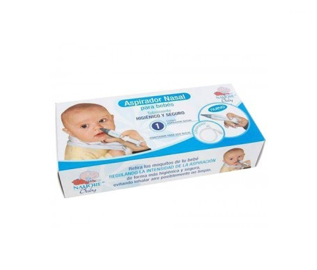 Nahore Baby aspirador nasal doble uso manual y bucal 1ud