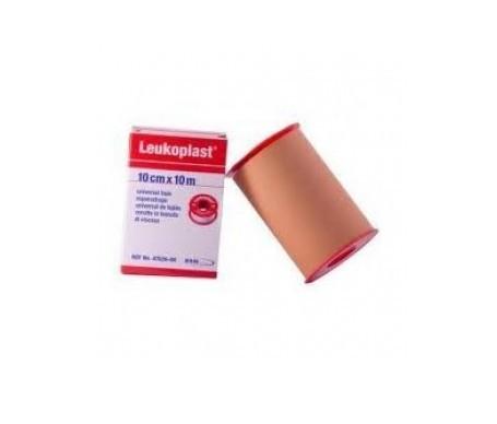Leukoplast esparadrapo color carne 10mx10cm 1ud