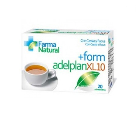 Farmanatural +form adelplan xl10 20 sobres filtro