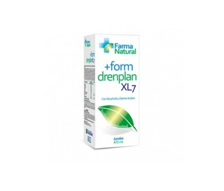 Farmanatural +form drenplan xl7 jarabe 475ml
