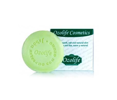 Ozolife jabón artesano con ozono pastilla 100g