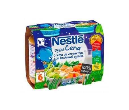 Nestle Peque Crema Bechamel Verduras Pollo 2u