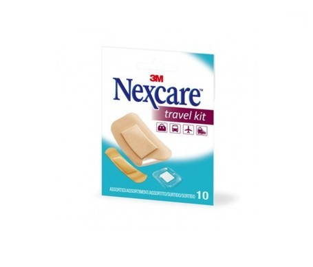 Nexcare Travel Kit 10uds