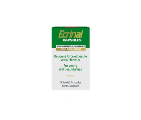 Ecrinal complemento nutricional para uñas y cabello 30cáps