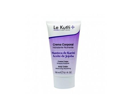 Le Kuth Crema Corporal Hidratante Y Nutriente Karite + Aceite Jo