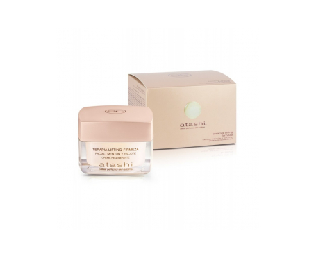 Atashi® Cellular Perfection Skin Sublime crema regenerante lifting mentón y escote 50ml