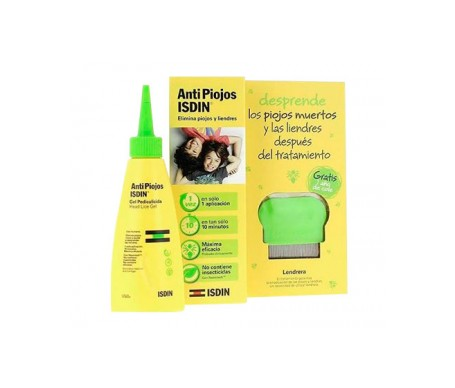 Isdin® AntiPiojos Pack gel pelicudicida 100ml + REGALO