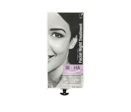 Iroha crema facial night colágeno +Q10 25g