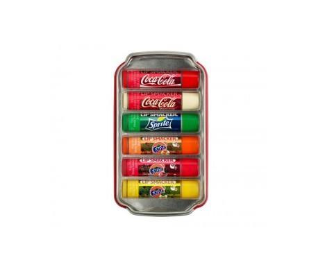 Lip Smakers lip sticks coca-cola 6 uts
