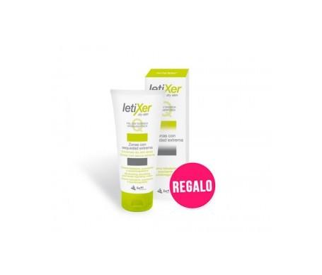 Letixer Q crema reparadora 100ml + masajeador de pies REGALO