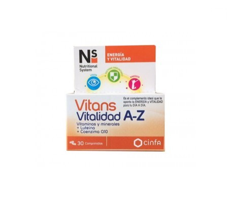 Ns Vitans vitalidad 30comp