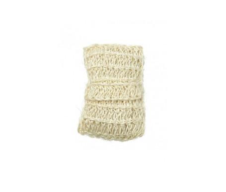 Beter esponja de baño sisal con brida de goma 1ud