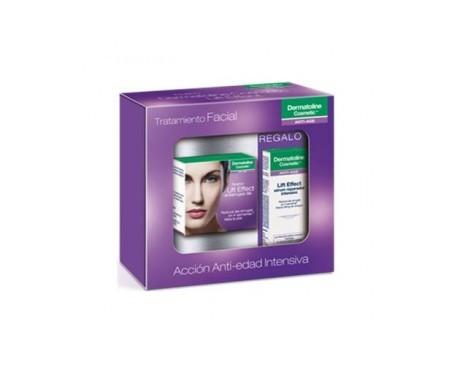 Dermatoline Pack Tratamiento Facial Lift Effect crema antiarrugas día 50ml + sérum reparador 8ml