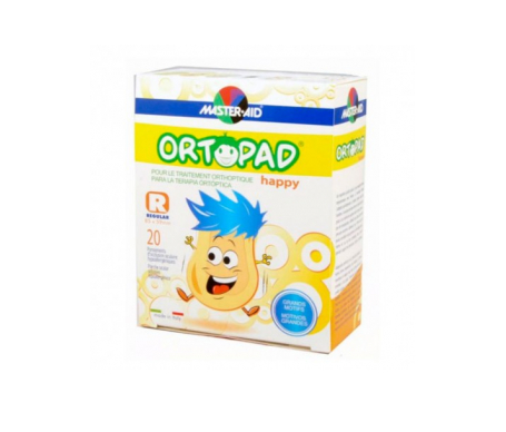 Ortopad® Happy parche ocular junior 20uds
