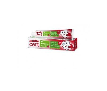 Acofardent gel dentífrico infantil  sabor fresa 50ml