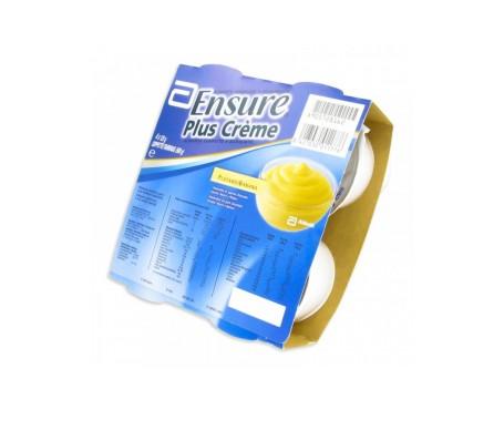 Ensure Plus crema banana tarrinas 125g x 4uds