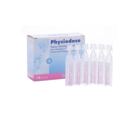 Physiodose Suero 18x 5 unidosis