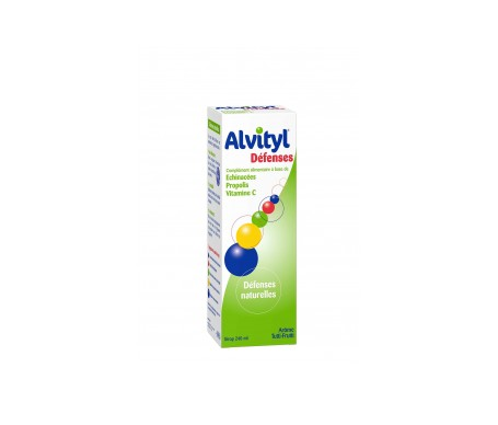 Alvityl Defensas Jaraebe 240ml