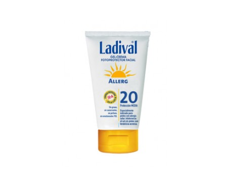 Ladival® Allerg  SPF20+ crema facial 75ml