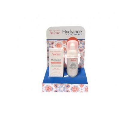 Avène Hydrance Optimale ligera 40ml+Mousse Limpiadora 50ml