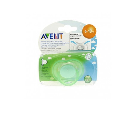 Avent chupete silicona 6-18m 1ud
