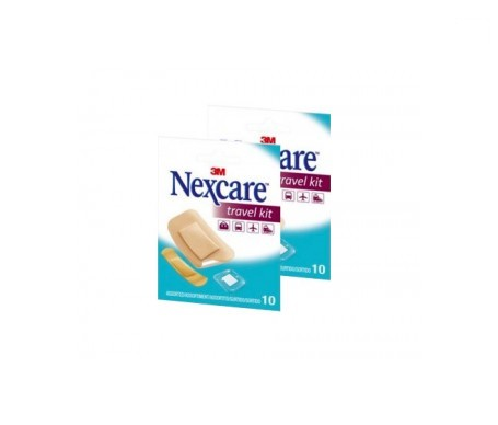 Nexcare Travel Kit 10uds+10uds