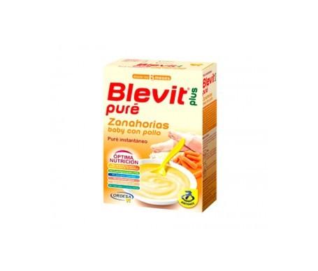 Blevit Plus Pure zanahorias con pollo 280g