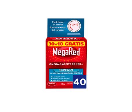MegaRed™ Omega 3 krill oil 30 + 10 caps.