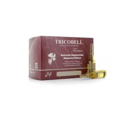 Tricobell fiale per alopecia diffusa 24pz
