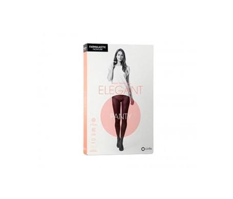 Farmalastic Novum Elegant panty compresión ligera color chocolate T-2 1ud