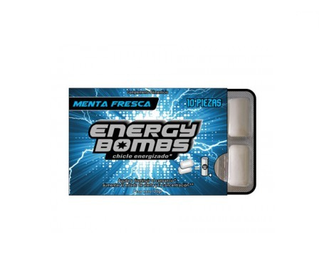 Energy Bombs chewing gum mint 10uts