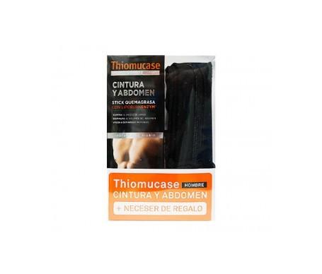 Thiomucase stick hombre cintura y abdomen 75ml + neceser
