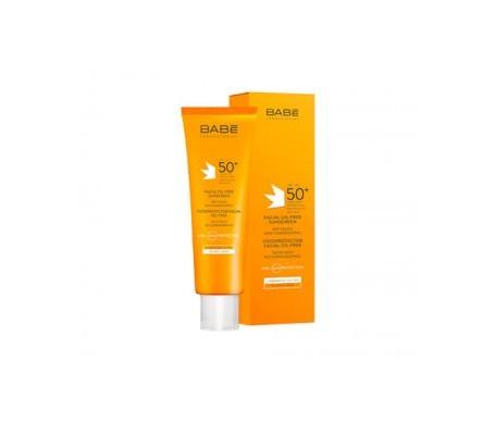 Babé fotoprotector facial 50+ oil free tacto seco 50ml