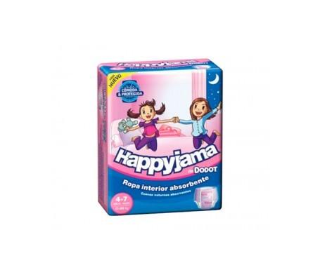 Dodot Happyjama pañal infantil niña T-7  13uds