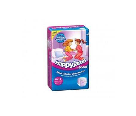Dodot Happyjama pañal infantil niña T-8  13uds