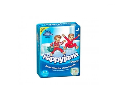 Dodot Happyjama pañal infantil niño T-7  13uds