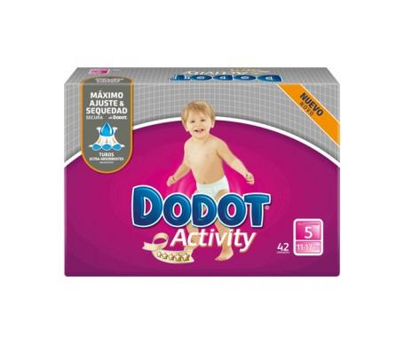 Dodot Activity pañal infantil T-5  42uds