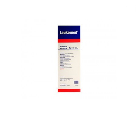 Leukomed® apósitos postoperatorio 10x35cm 5uds