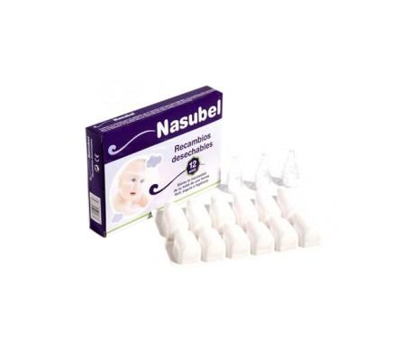 Nasubel® Recambios Aspirador Nasal 12 Uds.