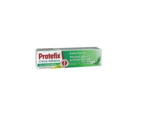 Protefix™ crème adhésive avec tube d'aloe vera 47g