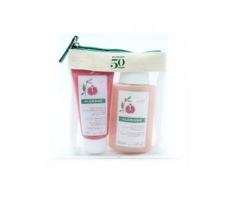 Klorane Melograno shampoo senza solfato 100ml + balsamo 50ml