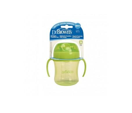 Dr Brown's taza principiante color verde 1ud