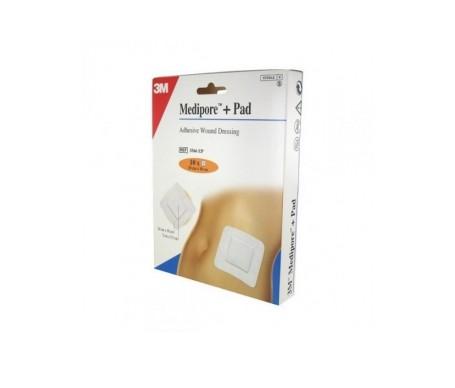 3m Medipore Pad Aposito Esteril 10x10 20un