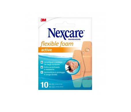 Nexcare Active 360º apósitos adhesivos surtido 10uds