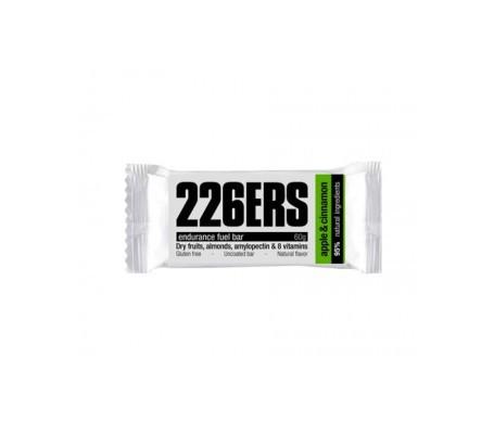 226ERS Endurance Fuel barrita energética manzana y canela 24uds