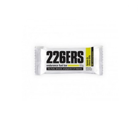 226ERS Endurance Fuel barrita energética limón y pepitas 24uds